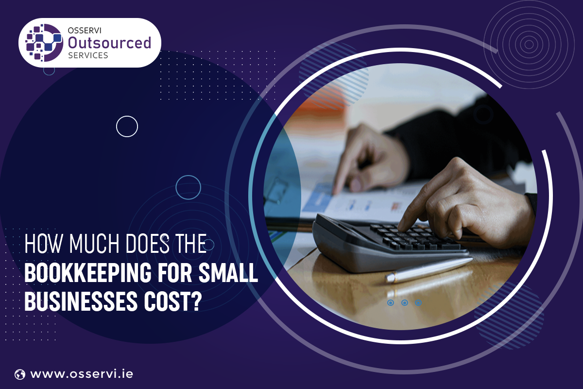 How much does the bookkeeping for small businesses cost