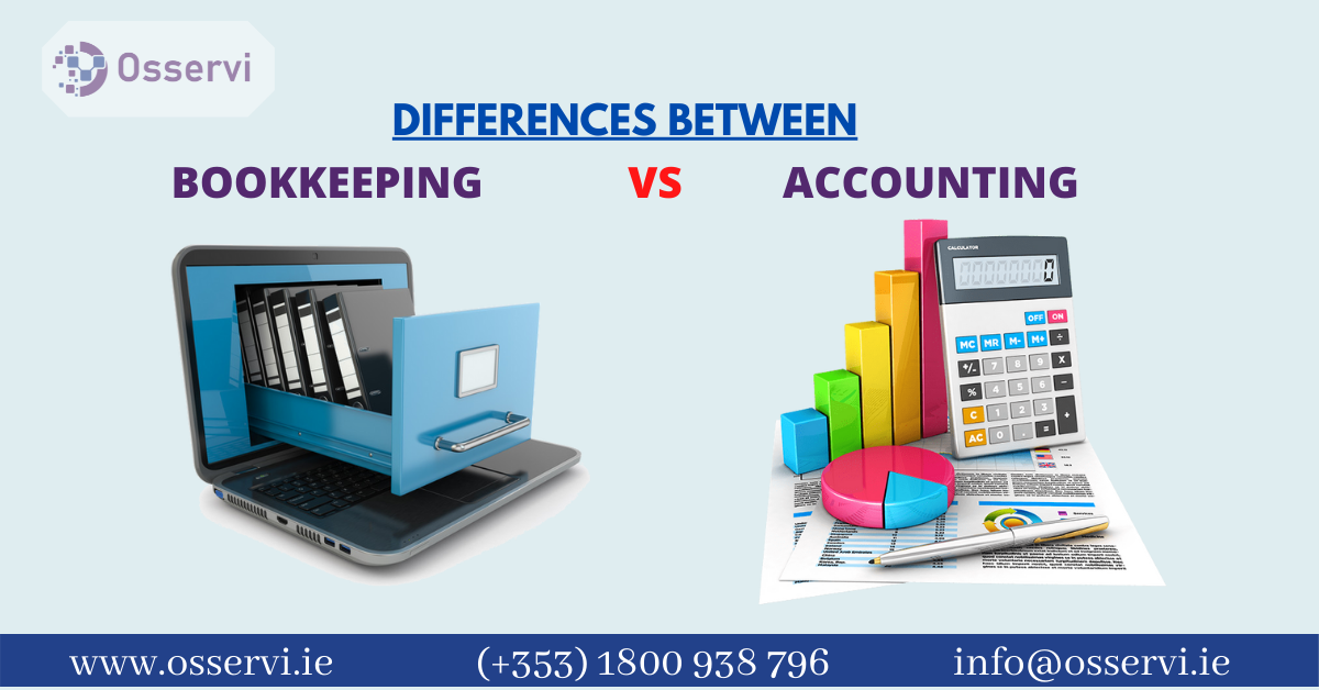 Differences Between Bookkeeping And Accounting